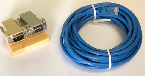 Blue RJ45 Computer Patch Cord OTRON Networking Cat5e Patch Cable 50 Feet